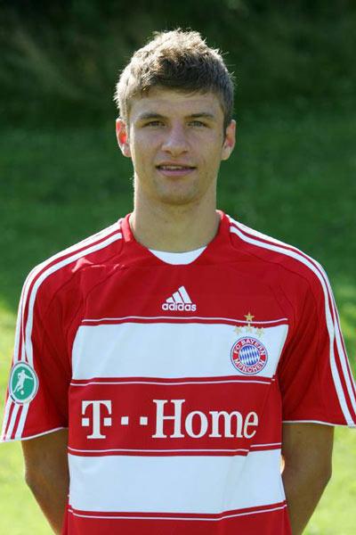 Немецкий футболист томас